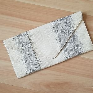Handbags - Snakeskin Clutch